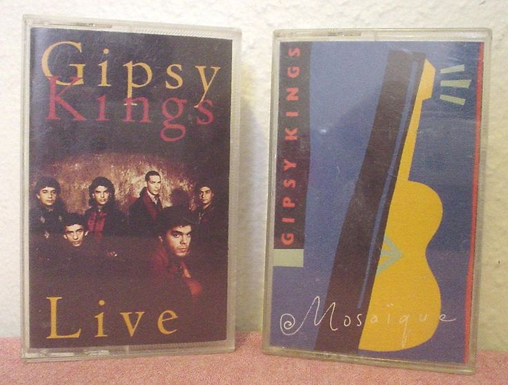 Vintage Gipsy Kings Live 1992 Mosaique 1989 Audio Cassettes Lot of 2 Volare Tu Quires Volver Bamboleo Sin Ella Vamos A Bailar Musica EC BIN