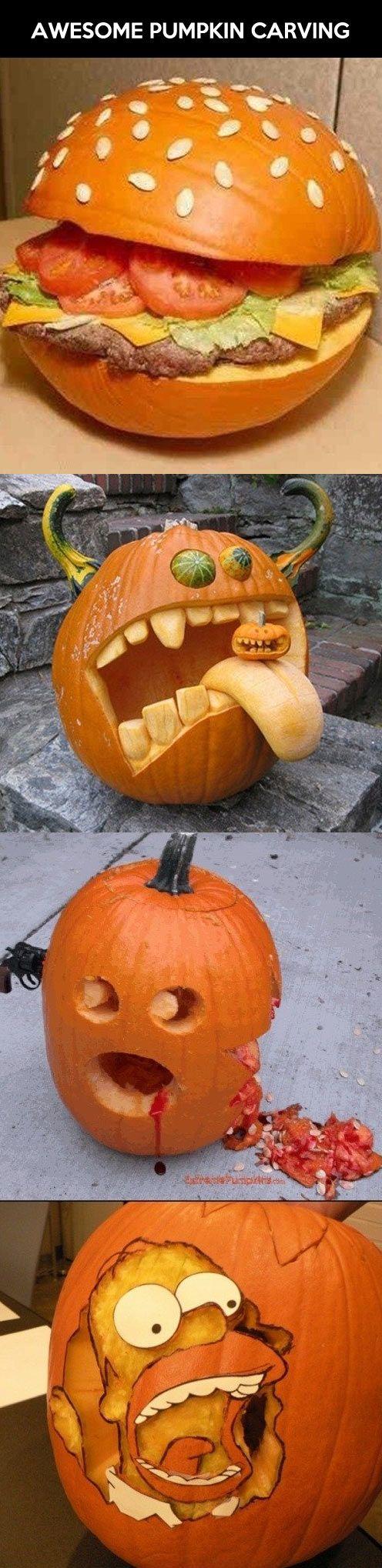 Best 25+ Pumpkin carving pictures ideas on Pinterest   Good ...
