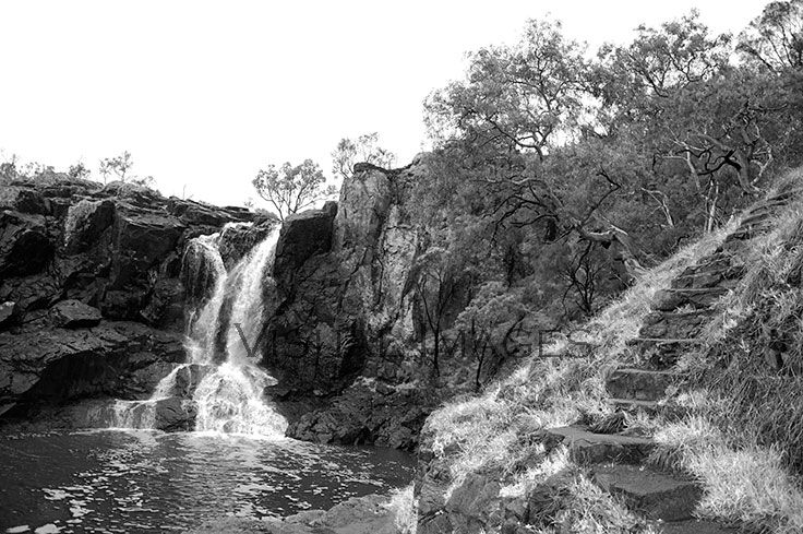 Nigretta Falls, a great waterfall and picnic spot.