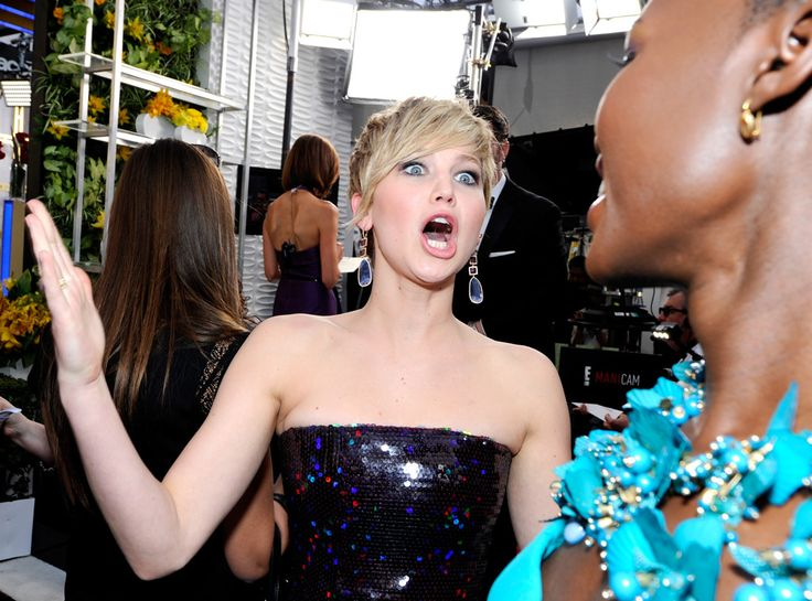Jennifer Lawrence: 6 Funny Faces She Made at the SAG Awards | E! Online Mobile