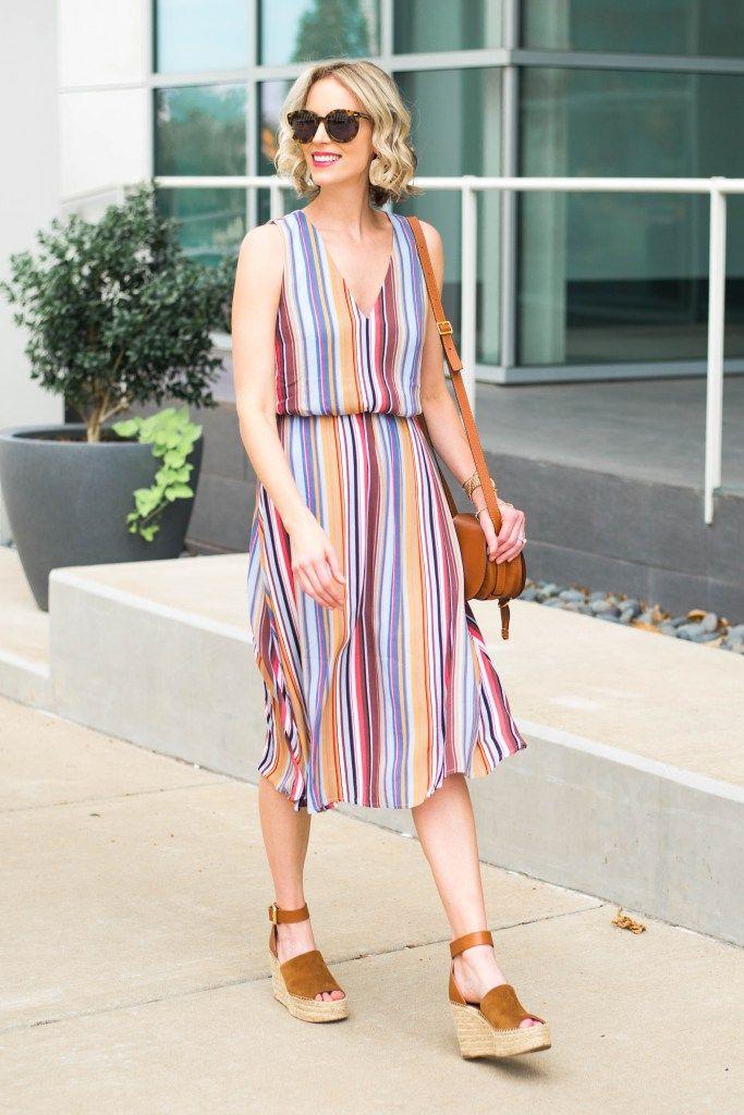3d568058b5d Striped Midi Dress - Part of the Nordstrom Sale