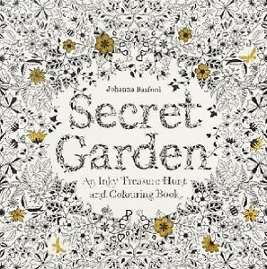 Secret Garden An Inky Treasure Hunt And Colouring Book By Johanna Basford Paperback