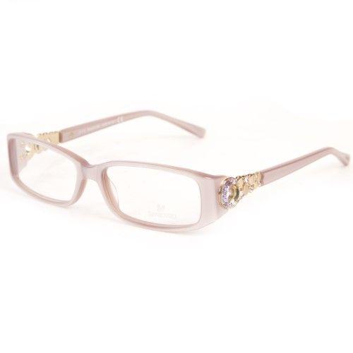 Swarovski Women's Rectangular Eyeglass Frames w/ Arm Details SW5029 – Glasses