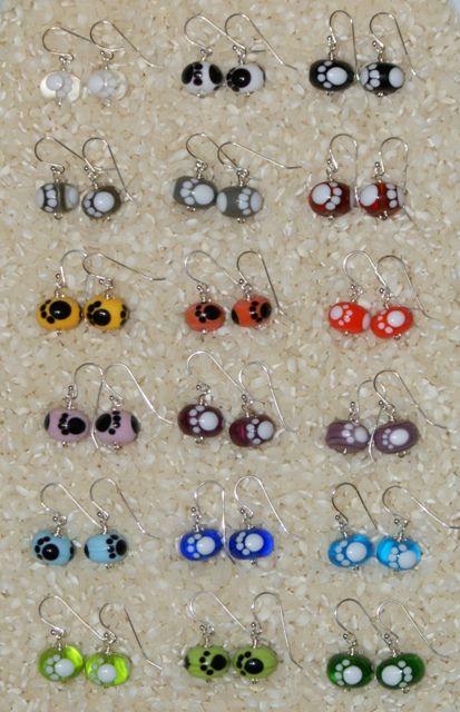 Tassu-korvakorut - Paw earrings