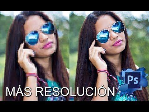 Como Subir Resolución a una Imagen con Photoshop CC Cs6 - YouTube