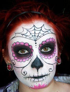 maquillaje del dia de muertos
