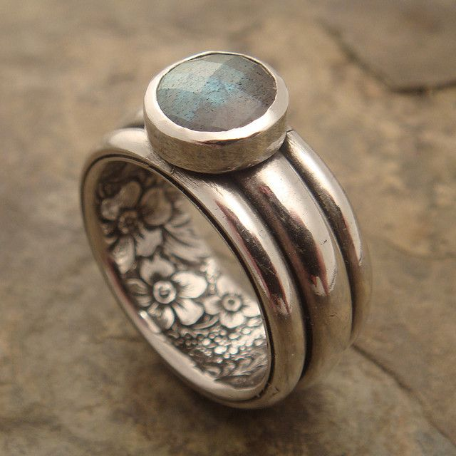 secret garden ring by downtothewiredesigns, via Flickr