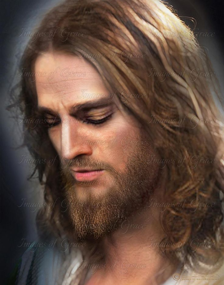 Thy Will Be Done - Images of Grace. Original artwork of our Lord Jesus Christ. For purchasing information, visit our website www.imagesofgrace.com