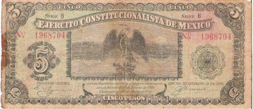 Estos podrían ser los 16 billetes más hermosos en la historia de México - Más de México