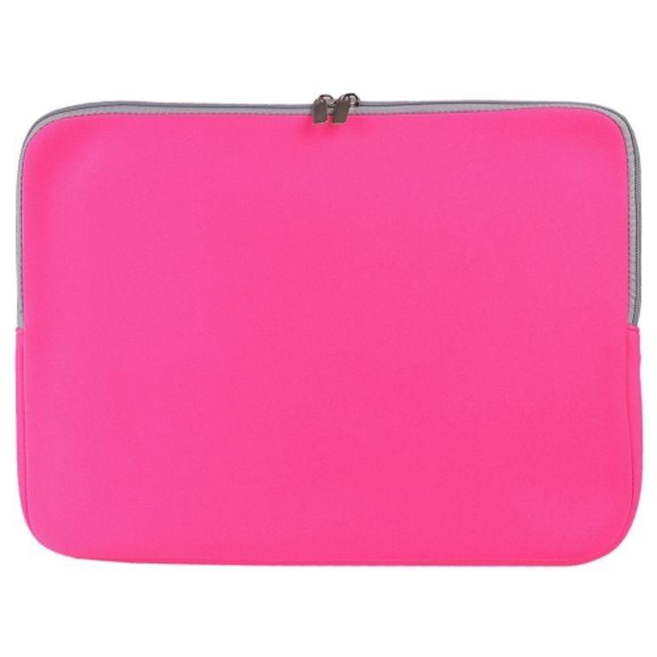 SlickBlue Neoprene Zipper Sleeve Case for 15 MacBook Pro/MacBook Pro Retina (Pink)