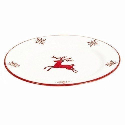 4 Christmas Plates Dinnerware Reindeer Stoneware Xmas Set Food Kitchen Gift Deer #AllForYou  sc 1 st  Pinterest & 154 best Christmas are HERE ! images on Pinterest | Festive Decal ...