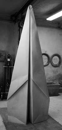Marble paper flying.   Fabio Viale