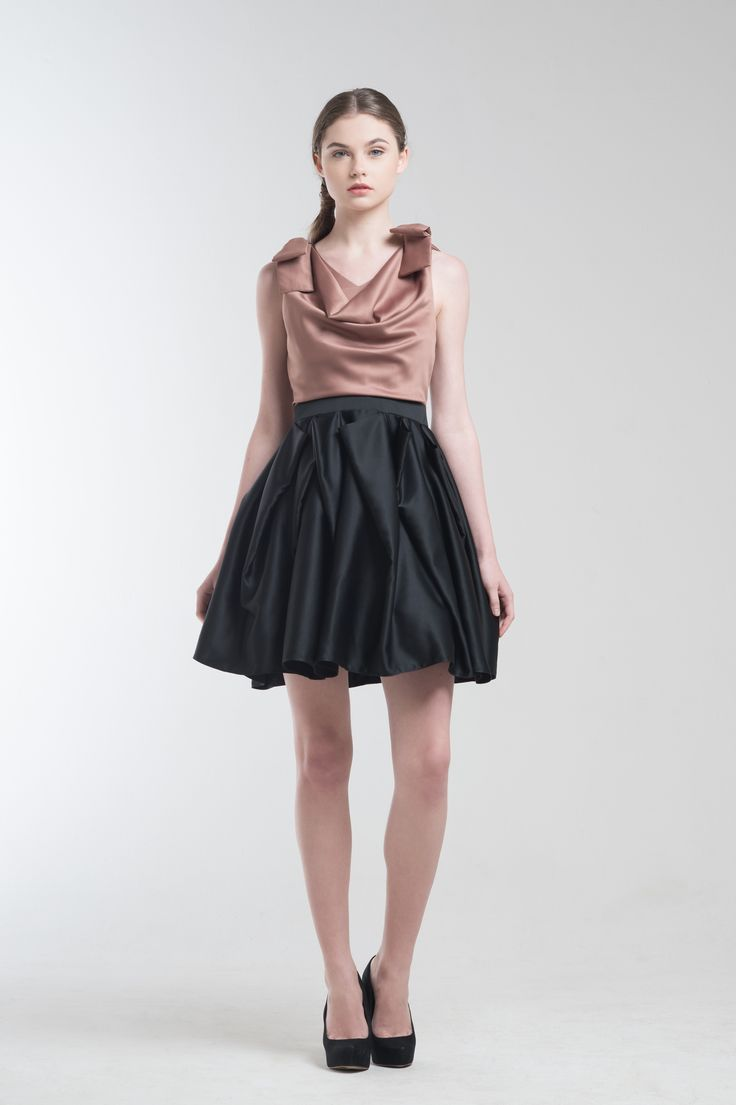 Hillary Dress in Brown from Jolie Clothing  #JolieClothing www.jolie-clothing.com  #Fashion #designer #jolie #Charity #foundation #World #vision #indonesia  #online #shop #stefanitan #fannytjandra #blogger