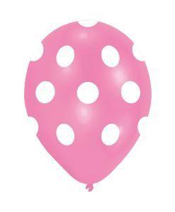Doğum günü parti süslemeleri için Pembe Beyaz Puanlı 10 Adet Renkli Latex Balon ürünümüzü online olarak uygun fiyatlar ile satın…