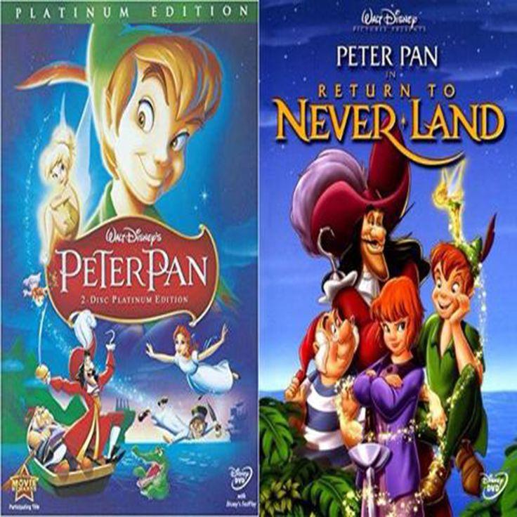 Peter Pan Movies 1 & 2 Set on DVD