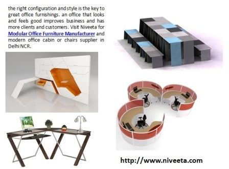 Visit Niveeta For Modular Office Furniture Manufacturer And Modern Cabin Or Chairs Supplier In Delhi