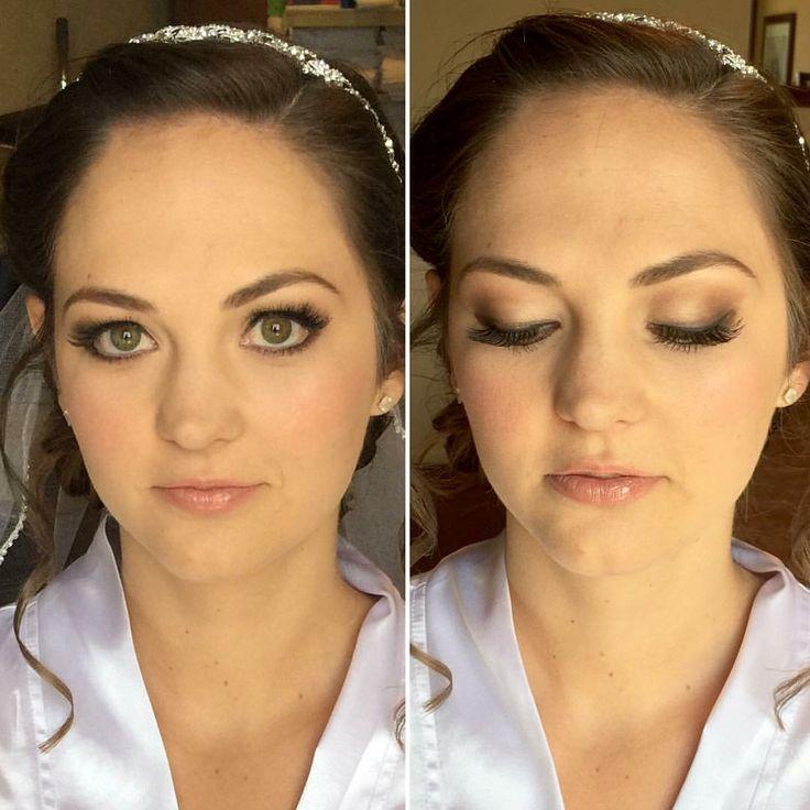 bride Kaycee #airbrushmakeup #ocbridalhairmu #bridalmakeup #temptupro #lisaleming