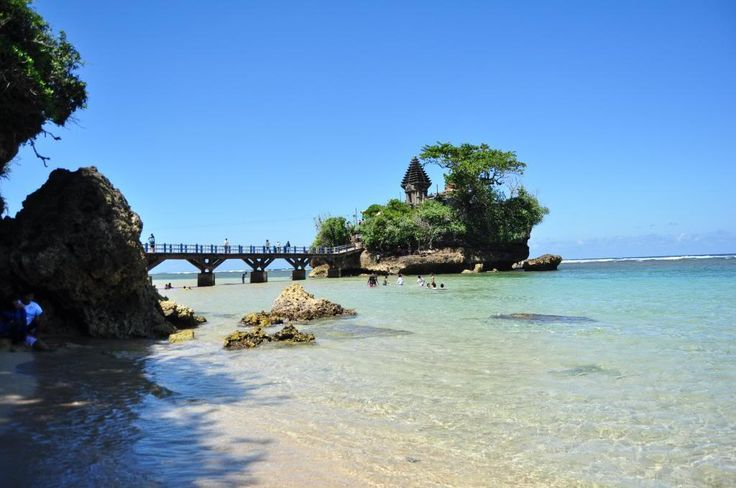 Balekambang beach, Malang. Indonesia