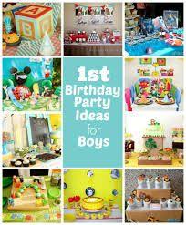 baby boy first birthday ideas - Google Search