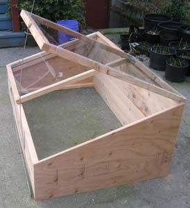 Cold frame instructions