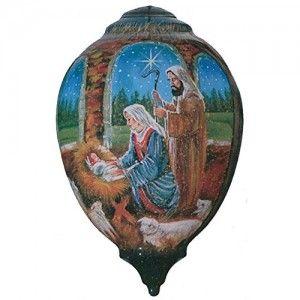 NeQwa-Art-Nativity-Ornament-Set-By-Artist-Stewart-Sherwood-169-0-2