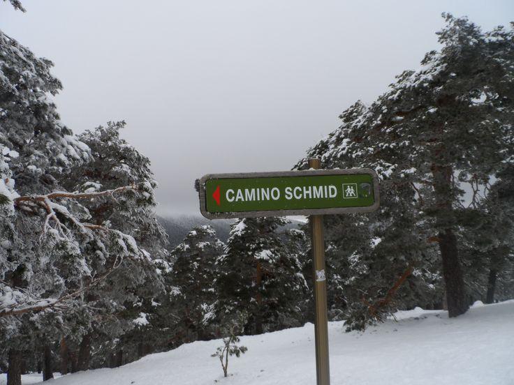 #caminoSchmid #Navacerrada