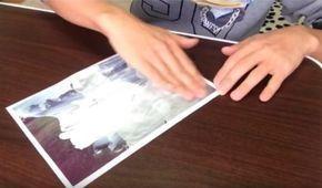 Une astuce étonnante pour imprimer une photo sur du bois ou un t-shirt avec… la crème solaire !