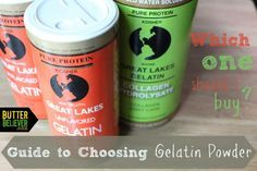 Which kind of gelatin powder should you buy? A handy guide for choosing the right one!