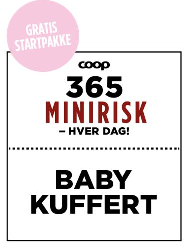 Gratis babypakke - få en god start - bestil en babykuffert her