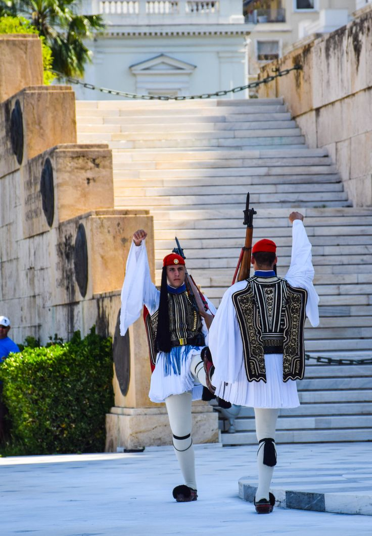 Changing of the guard - Parliament Building, Athens, Greece