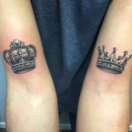 Crown Tattoo For Kings And Queens Crown Meaning And Designs Crown Neck Tattoo Crown Tattoos For Women Crown Tattoo Men