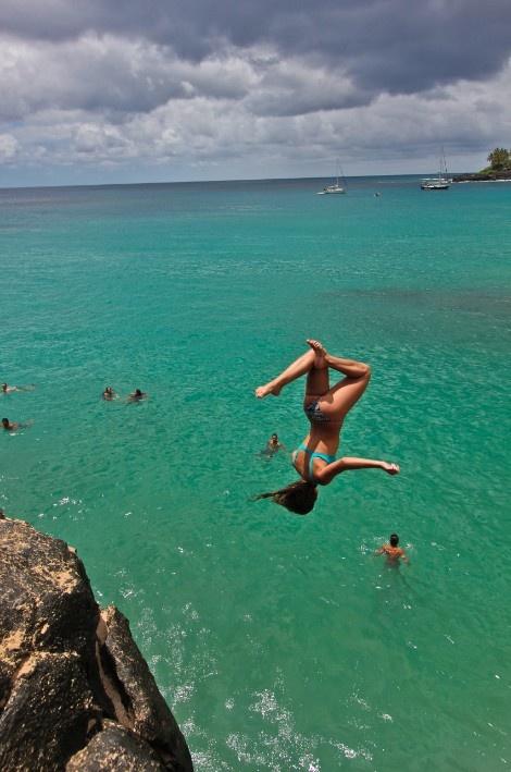 25 best ideas about cliff diving on pinterest summer beach summer goals and summer - Highest cliff dive ever ...