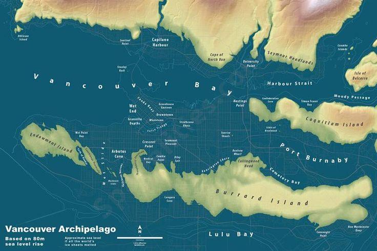Jeffery Linn - 80m rise in sea level (future, not history)