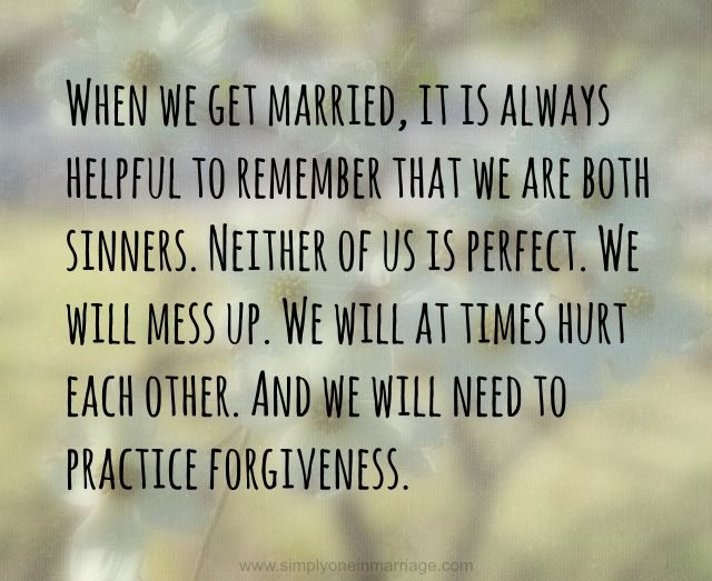 Forgiveness in Marriage - Part One: Because of God's Grace - A Couple's Bible Study