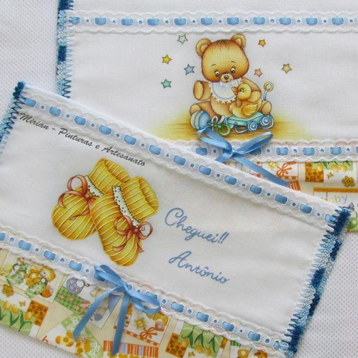 """Kit de Fraldas Personalizado """"Baby"""""""