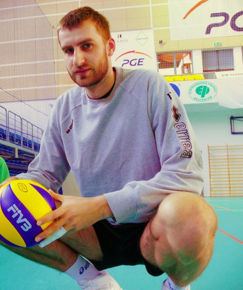 Marcin Możdżonek. Polish Volleyball Player.