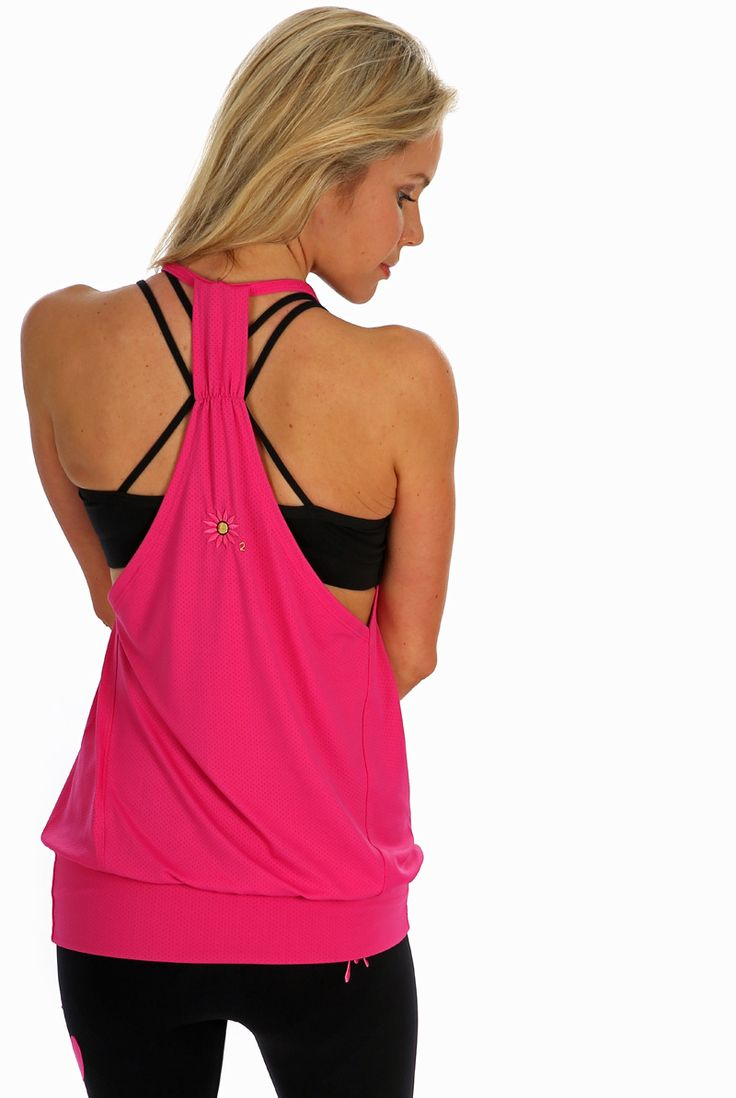 "Margarita Raspberry ""At the Barre"" Tank 