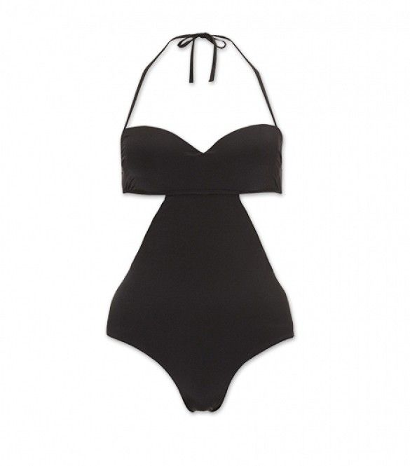 12 One-Piece Swimsuits For Instant Pinup Girl Status via @Who What Wear