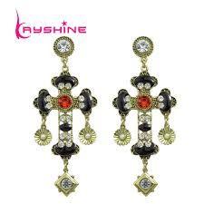 Afbeeldingsresultaat voor goth cross earrings