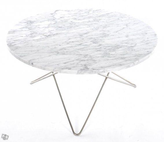 O Table Soffbord - Marmor/Mässing -Fri Hemlev | Stockholm