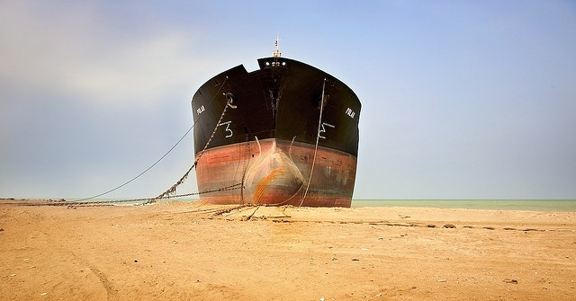 Ship Breaking Yard of Gadani | Atlas Obscura