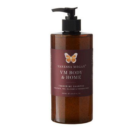 Vanessa Megan Organic Shampoo - Tangerine & Geranium