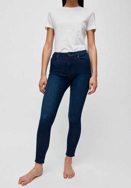 Skinny-fit-Jeans »TILLAA X STRETCH Damen Skinny Fit Mid Waist« GOTS, made with organic, CERES-08