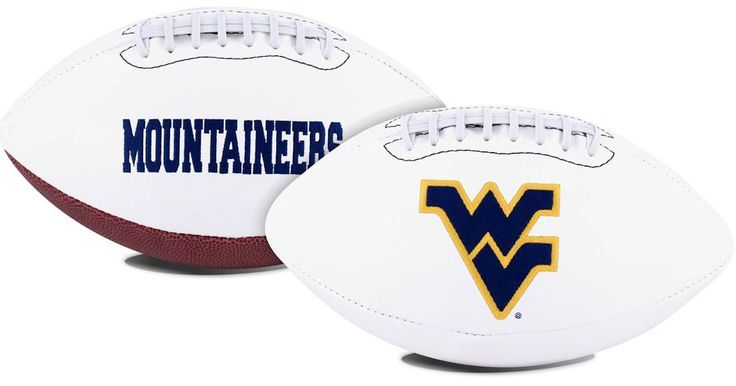 ~West Virginia Mountaineers Football Full Size Embroidered Signature Series~ backorder