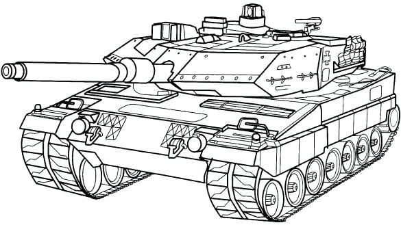 Army Coloring Pages Army Coloring Pages Security Military Tank