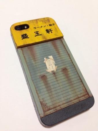 「閉店したラーメン屋風iPhoneケース」作り方 - Togetterまとめ