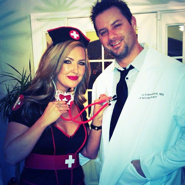 Pin for Later: 60 Sexy Halloween Couples Costume Ideas Sexy Nurse and Doctor The sexy nurse thing never gets old.