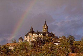 Schloß Wernigerode - Sehenswürdigkeiten im Harz