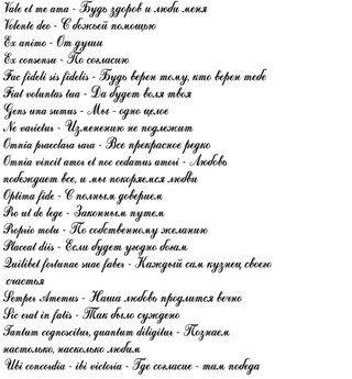 Тату картинка для перевода надпись на латинском с переводом