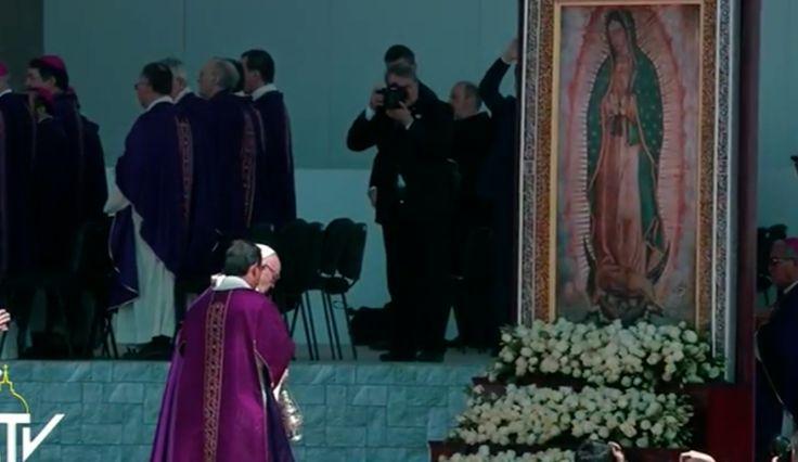 Angellus del Papa en Ecatepec